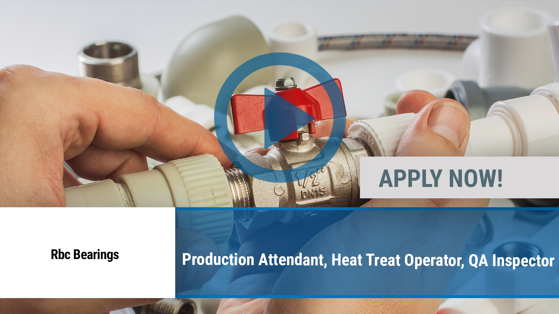 Watch our careers video for available job opening Production Attendant, Heat Treat Operator, QA Ins in Bremen, IN