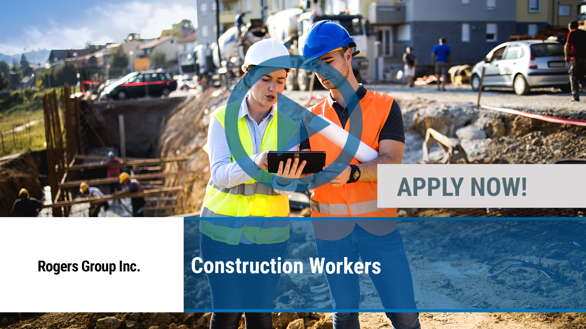 Watch our careers video for available job opening Construction Workers in Knoxville, TN