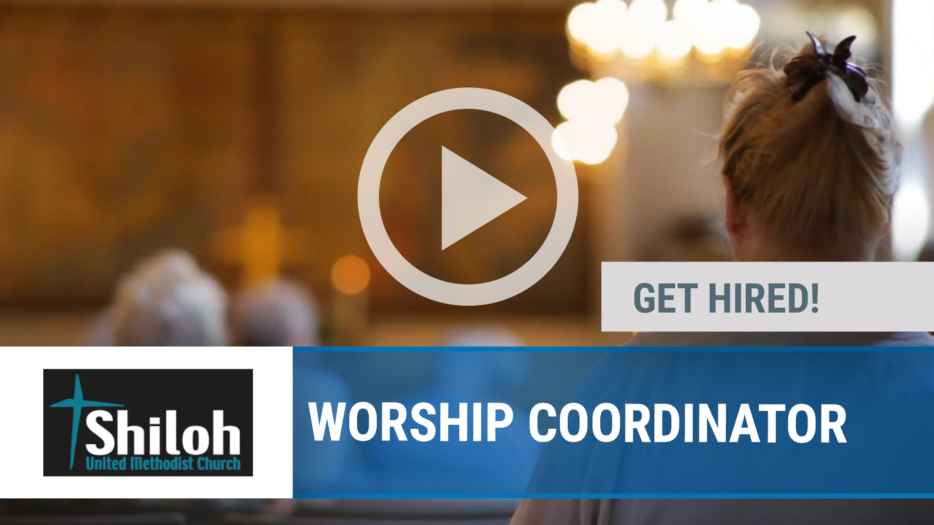 Watch our careers video for available job opening WORSHIP COORDINATOR in SHILOH, IL