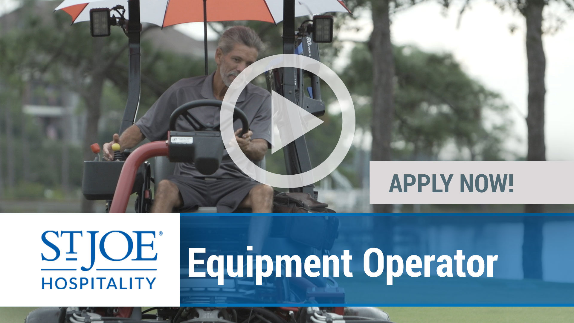 Watch our careers video for available job opening Equipment Operator in Panama City Beach & WaterSoun