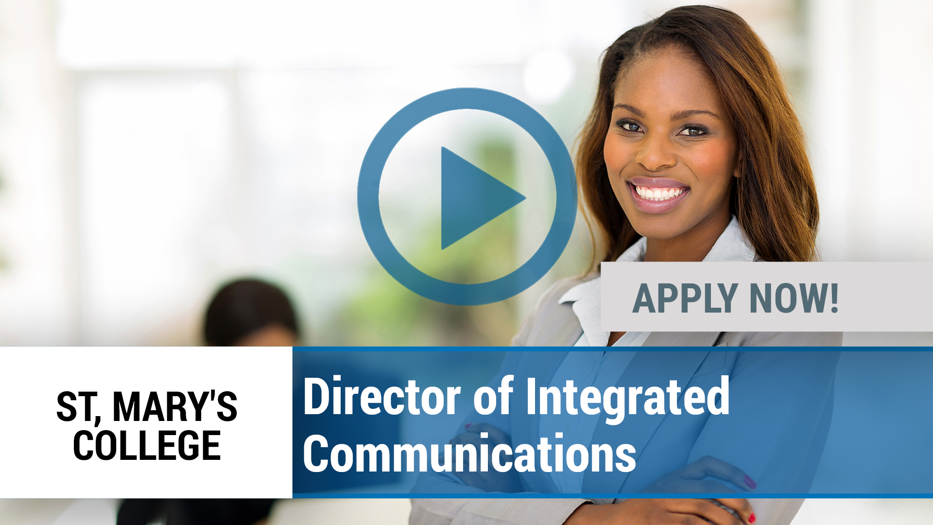 Watch our careers video for available job opening Director of Integrated Communications in Notre Dame, IN