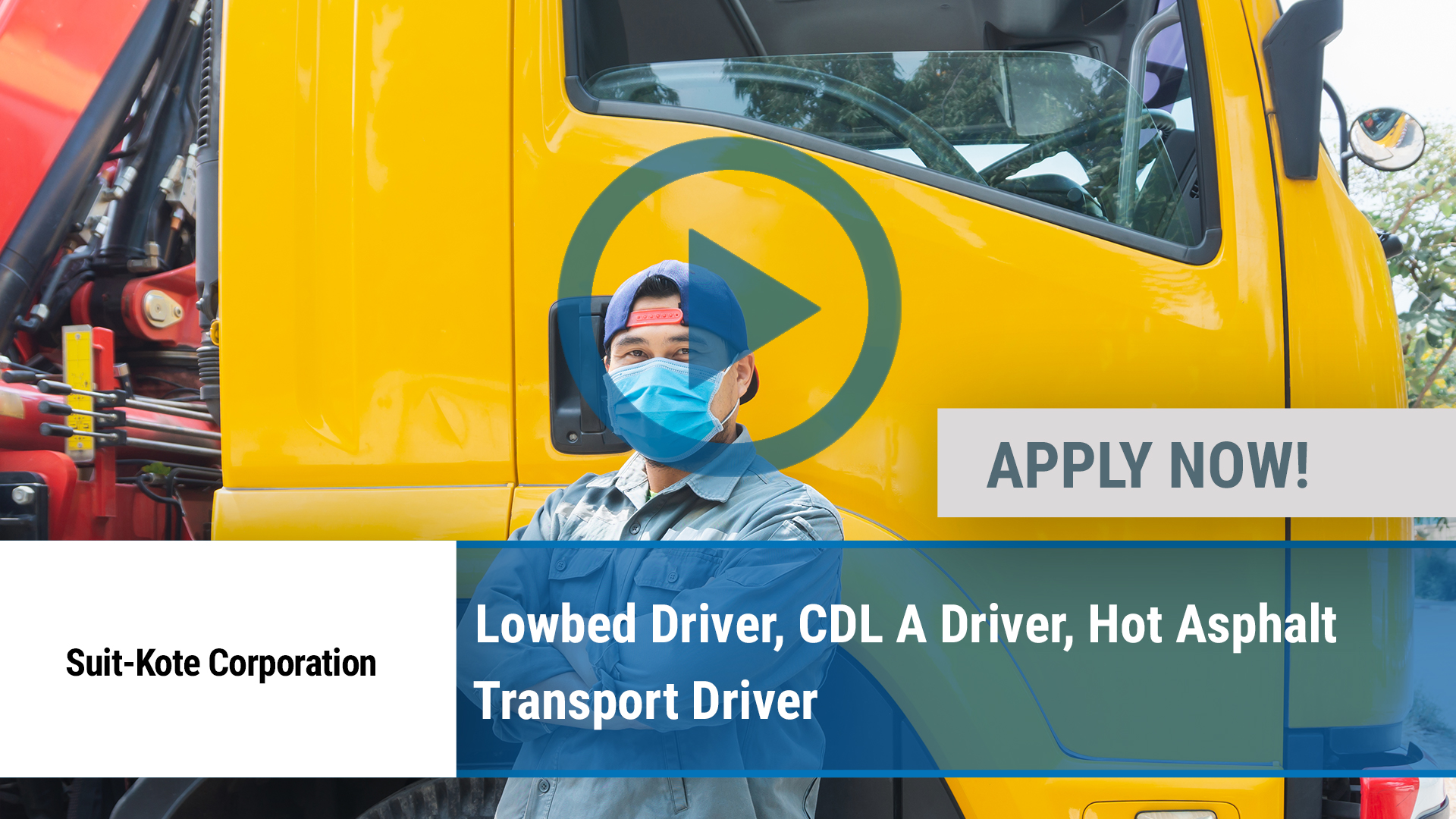Watch our careers video for available job opening Lowbed Driver, CDL A Driver, Hot Asphalt Transpor in Preble, NY