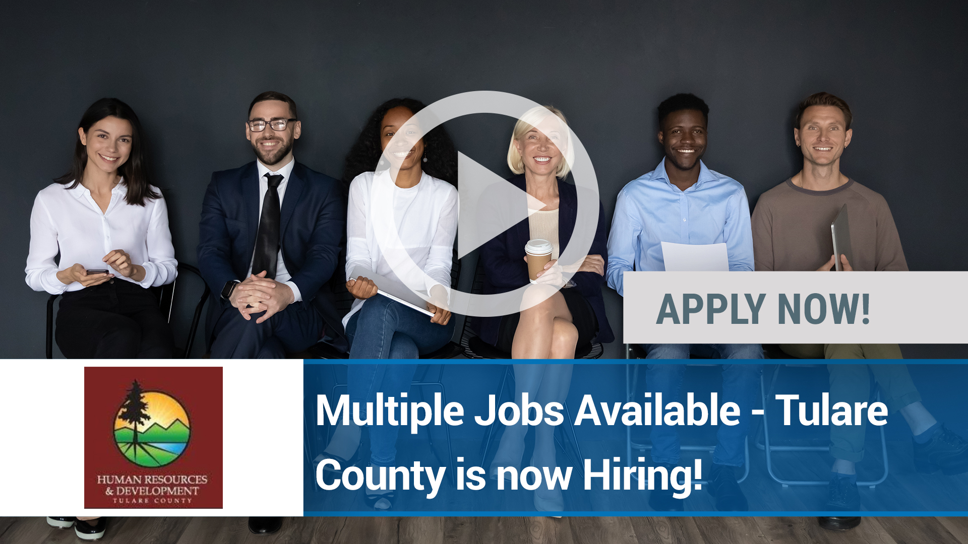 Watch our careers video for available job opening Multiple Jobs Available - Tulare County is now Hi in Visalia, CA