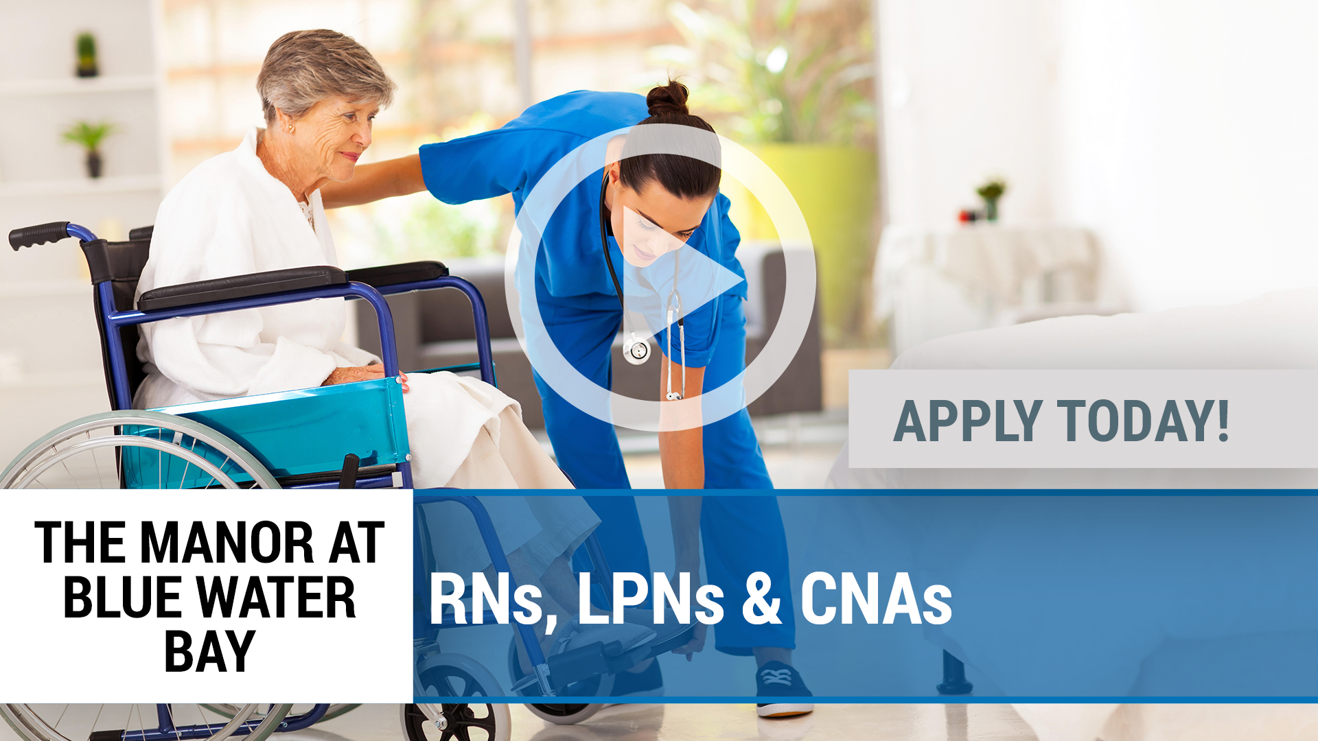 Watch our careers video for available job opening RNs, LPNs & CNAs in Niceville, FL
