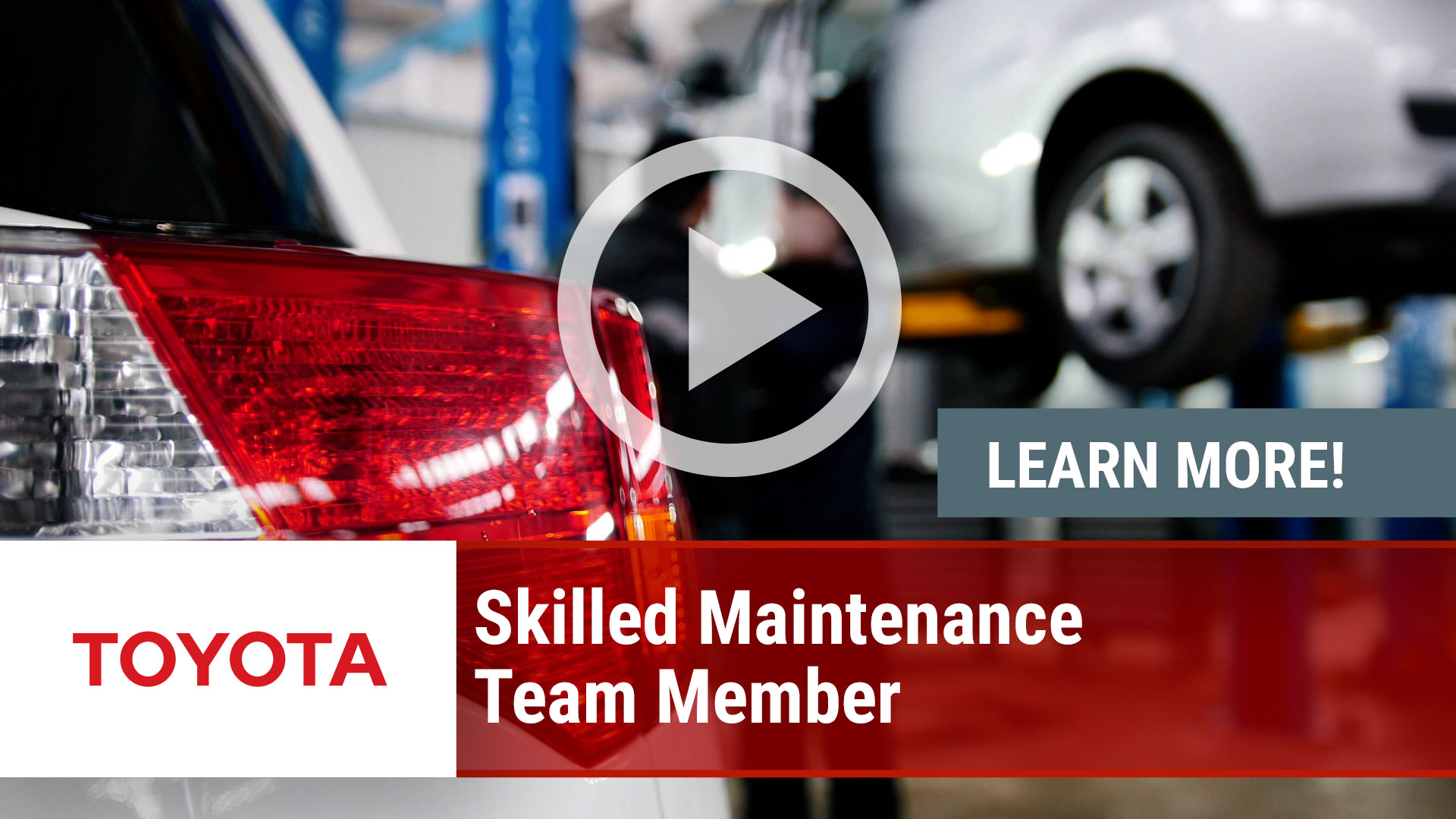 Watch our careers video for available job opening Skilled Maintenance Team Member in Multiple Across NA Facilities