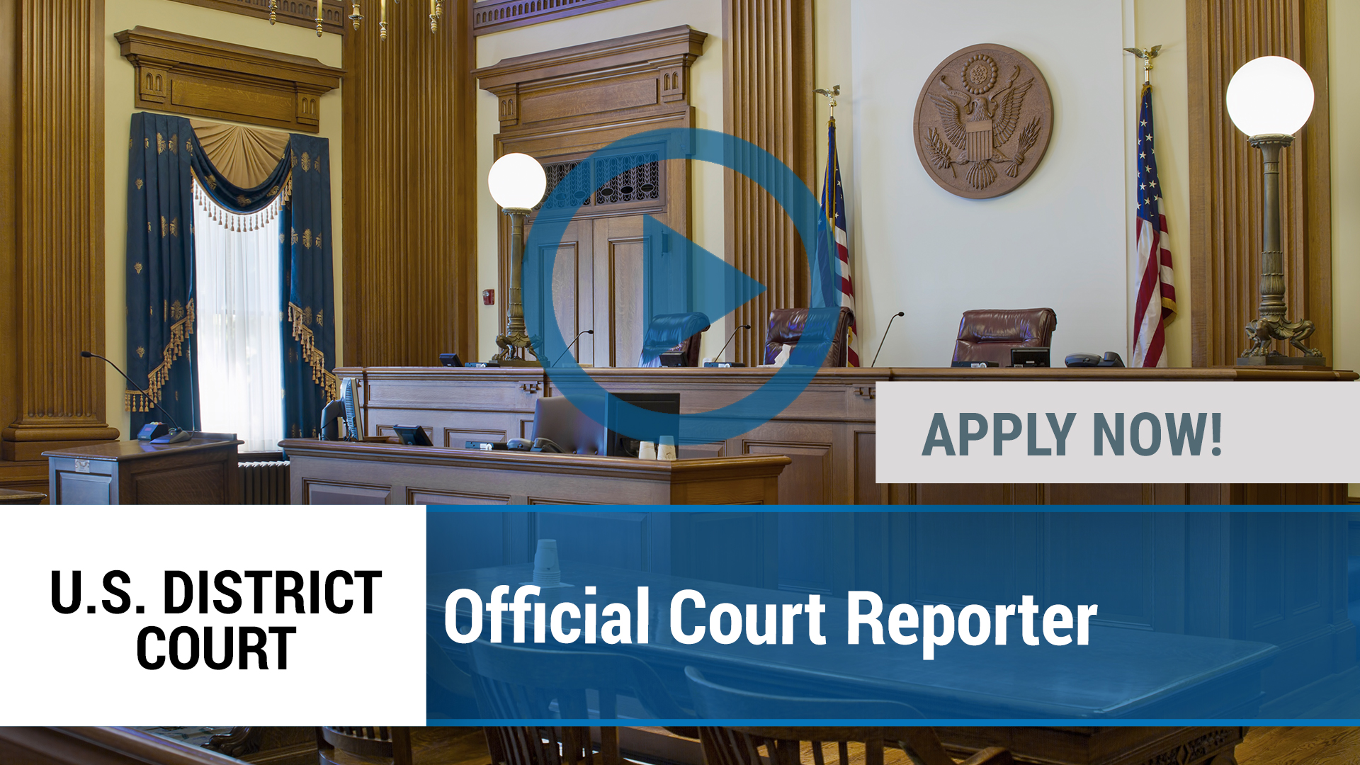 Watch our careers video for available job opening Official Court Reporter in Shreveport, LA
