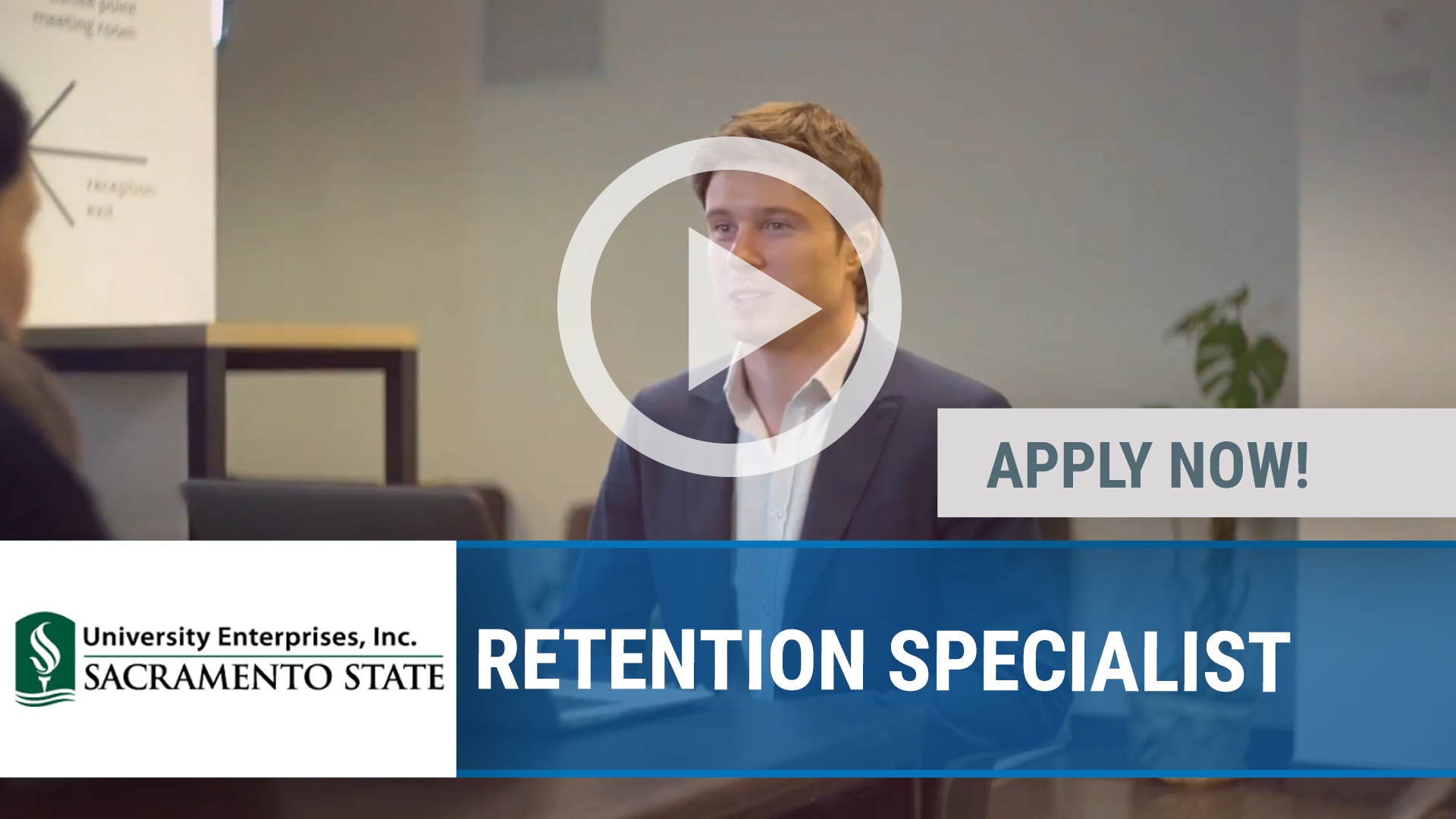 Watch our careers video for available job opening RETENTION SPECIALIST in SACRAMENTO, CA