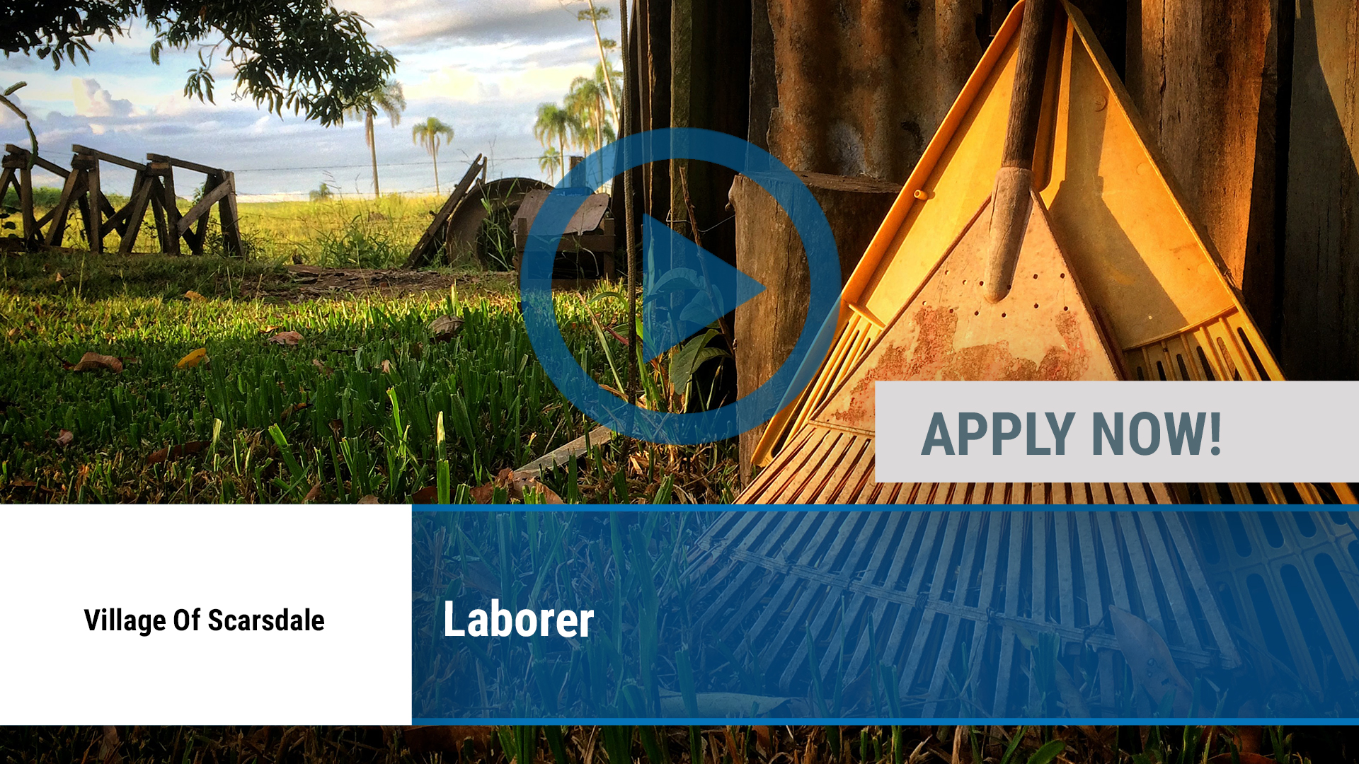 Watch our careers video for available job opening Laborer in Scarsdale, NY