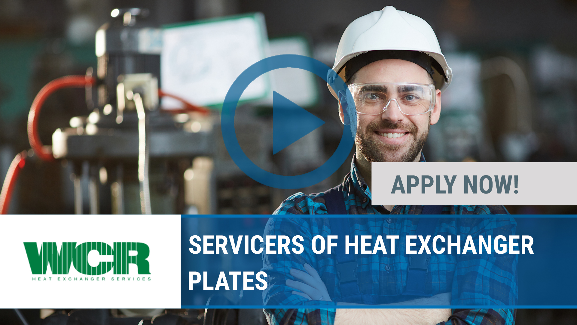 Watch our careers video for available job opening SERVICERS OF HEAT EXCHANGER PLATES in Peoria, IL