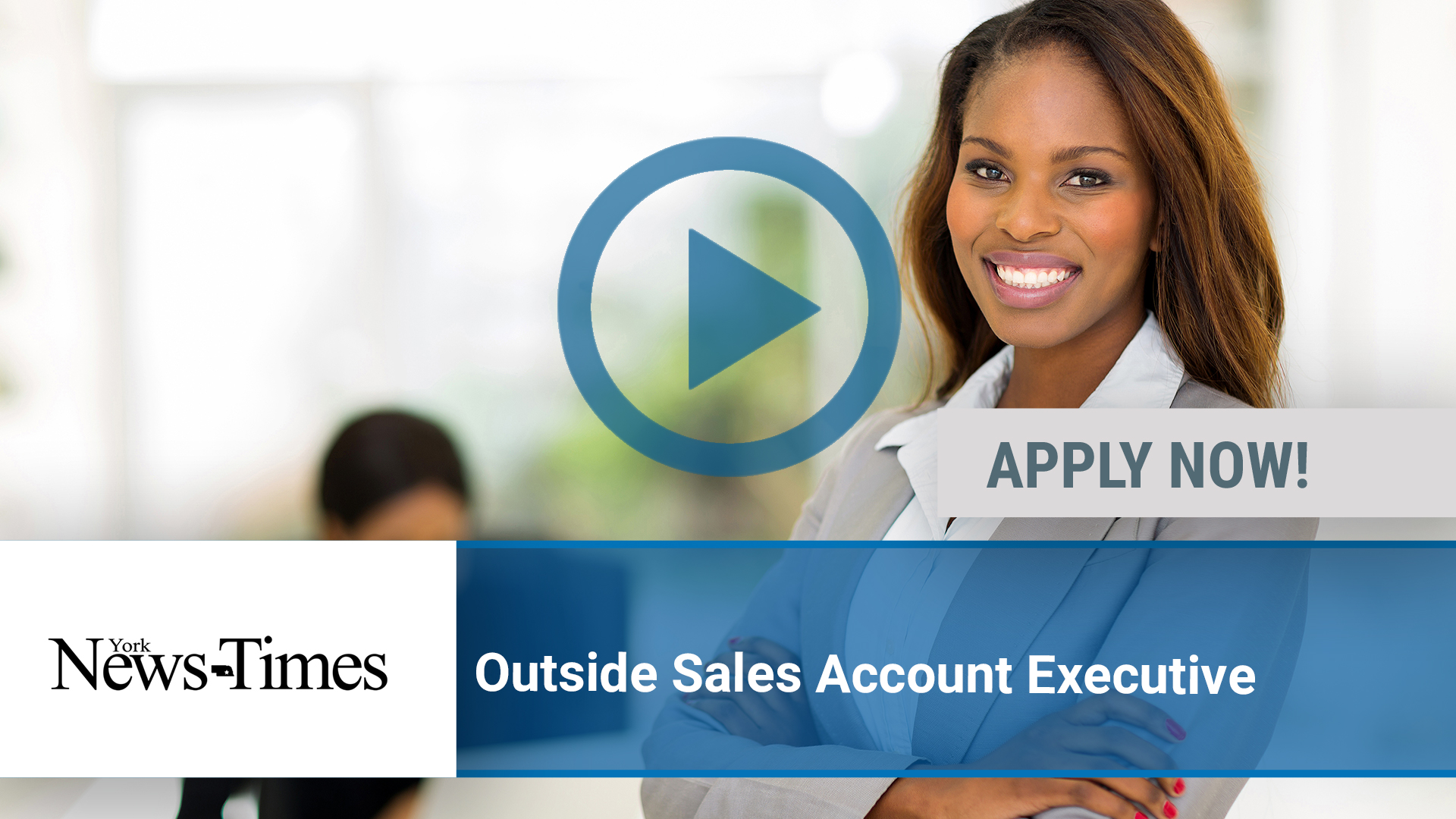 Watch our careers video for available job opening Outside Sales Account Executive in York, NE
